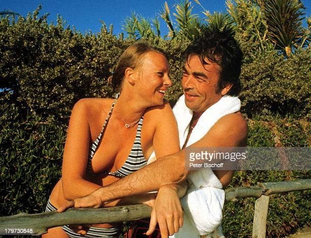 Claus Biederstaedt mit Ehefrau BarbaraCran Canaria/Spanien Urlaub Bikini