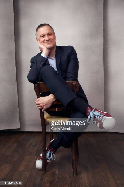 Claus Meyer of the film 'A Taste of Sky' poses for a portrait during the 2019 Tribeca Film Festival at Spring Studio on April 26 2019 in New York City