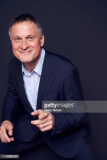 Claus Meyer of the film 'A Taste of Sky' poses for a portrait during the 2019 Tribeca Film Festival at Spring Studio on April 27 2019 in New York City