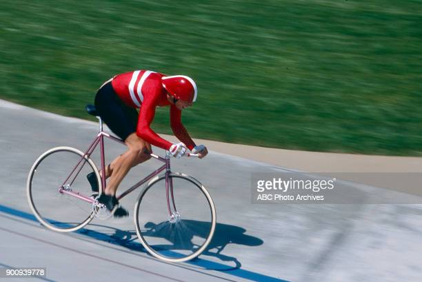 Claus Rasmussen Men's Track cycling 1 km time trial competition Olympic Velodrome at the 1984 Summer Olympics July 30 1984