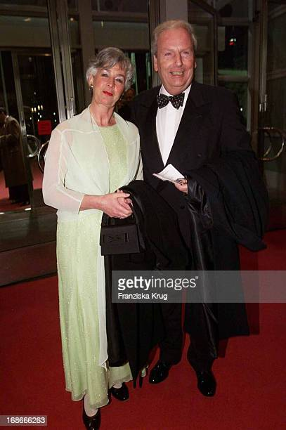 Claus Seibel and wife Gabriele Ball Of Sports in Frankfurt Am 020202