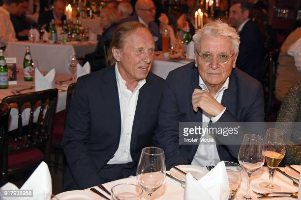 Claus Theo Gaertner and Henry Huebchen attend the Askania Award at Palazzo am Bahnhof Zoologischer Garten on February 13 2018 in Berlin Germany