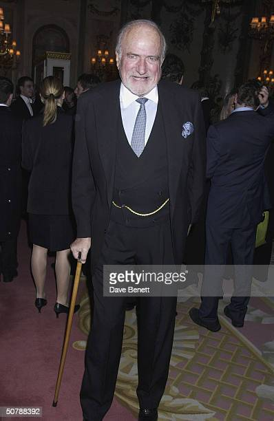 Claus Von Bulow at the book launch for Annabel Goldsmith's Memoirs at the Ritz Hotel on 11th March 2004 in London