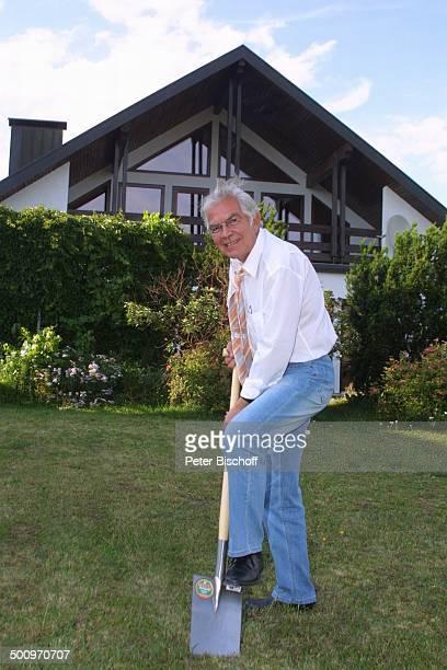 Claus Wilcke Ehefrau Janine Amann Homestory Rothenburg ob der Tauber Schauspieler Spaten Promi PNr 764/2004 HS Foto PBischoff/CD Veröffentlichung nur...