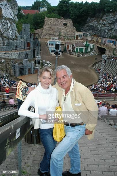 Claus Wilcke Ehefrau Janine Amann Winnetou und das Geheimnis der Felsenburg Zuschauer der KarlMaySpiele