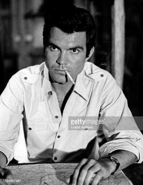 """Claus Wilcke in der ZDF Abenteuerserie """"Percy Stuart"""", Deutschland 1960er Jahre."""