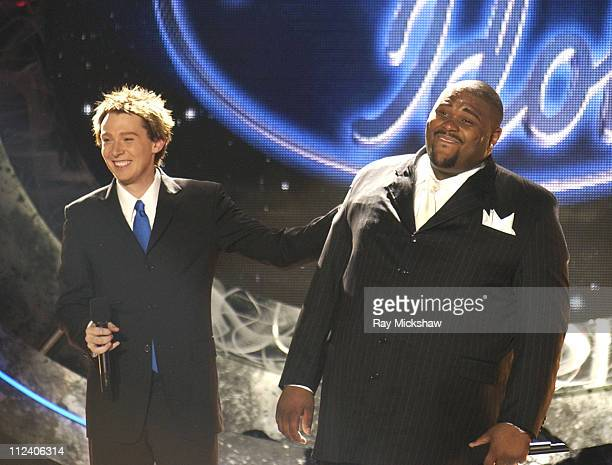 Clay Aiken and Ruben Studdard Winner of American Idol 2003