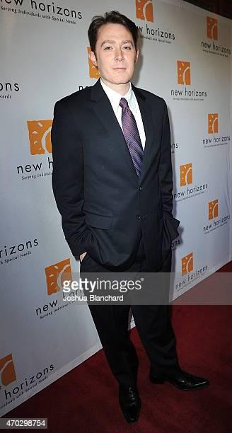 Clay Aiken arrives at New Horizons Havana Nights 2015 Gala Fundraiser at Los Calamigos Ranch on April 18 2015 in Burbank California