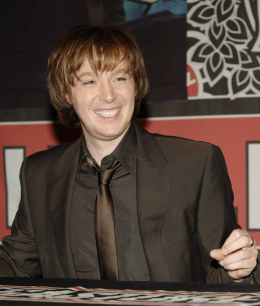 Clay Aiken Attends A Signing For His New CD Thousand Different Ways At