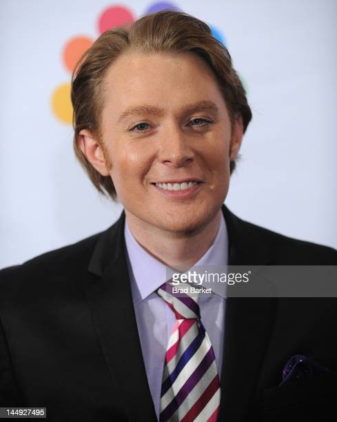 Clay Aiken attends the Celebrity Apprentice Live Finale at American Museum of Natural History on May 20 2012 in New York City