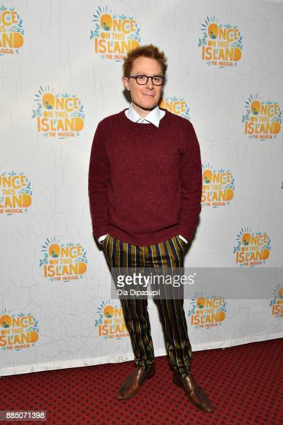 Clay Aiken attends the Once On This Island Broadway Opening Night at Circle in the Square Theatre on December 3 2017 in New York City