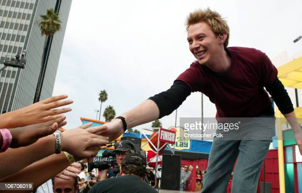 Clay Aiken during Nickelodeon Celebrates Lets Just Play Campaign at Nickelodeon Studios On Sunset in Hollywood CA United States