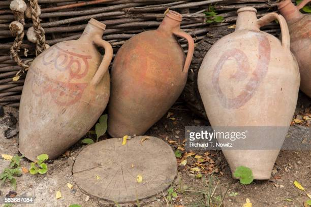 Clay Amphora are used to store wine