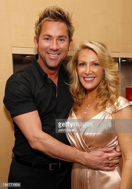 Clay Atkin and Kym Douglas during The Black Book of Hollywood Beauty Secrets Debut Party Hosted by Kelly and Martin Katz at Martin Katz Ltd in Los...