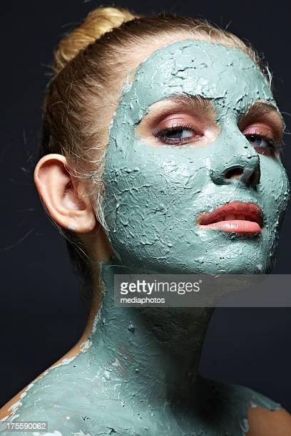 Argile du visage