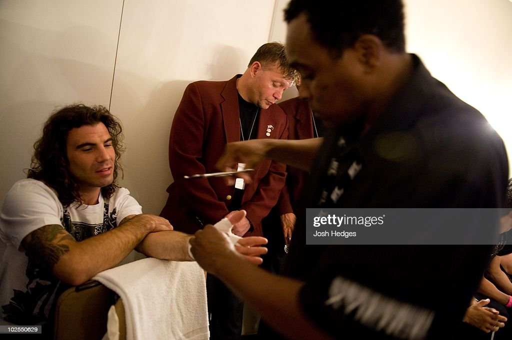 Clay Guida during The Ultimate Fighter 9 Finale at The Pearl at the Palms on June 20, 2009 in Las Vegas, Nevada.