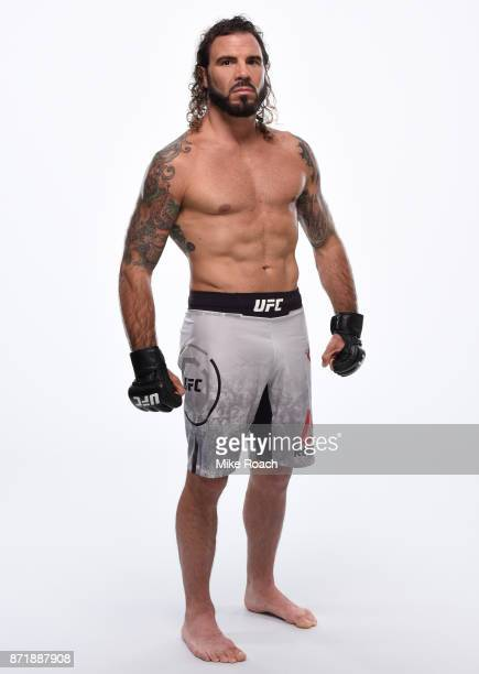 Clay Guida poses for a portrait during a UFC photo session on November 8 2017 in Norfolk Virginia