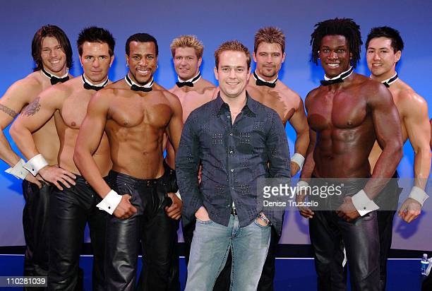 Clay Lee with The Chippendales during The Apprentice Cast Attends the Chippendales Show at The Rio Hotel and Casino Resort in Las Vegas Nevada United...