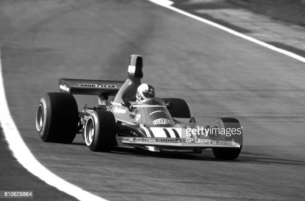 Clay Regazzoni driving a Ferrari 312B3 at Jarama Spanish GP 2nd