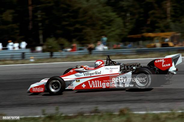 Clay Regazzoni EnsignFord N177 Grand Prix of Sweden Anderstorp Raceway 19 June 1977