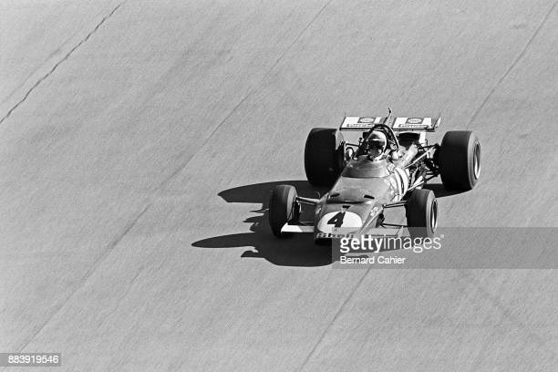 Clay Regazzoni Ferrari 312B Grand Prix of Italy Autodromo Nazionale Monza 06 September 1970 Clay Regazzoni and his Ferrari racing towards his first...