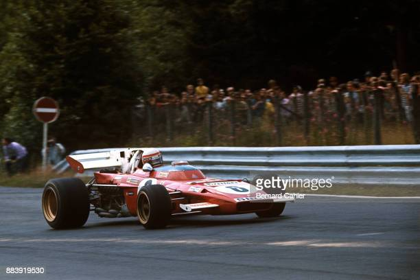 Clay Regazzoni Ferrari 312B2 Grand Prix of Germany Nurburgring 01 August 1971