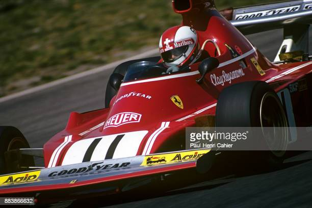 Clay Regazzoni Ferrari 312B374 Grand Prix of Austria Osterreichring 18 August 1974