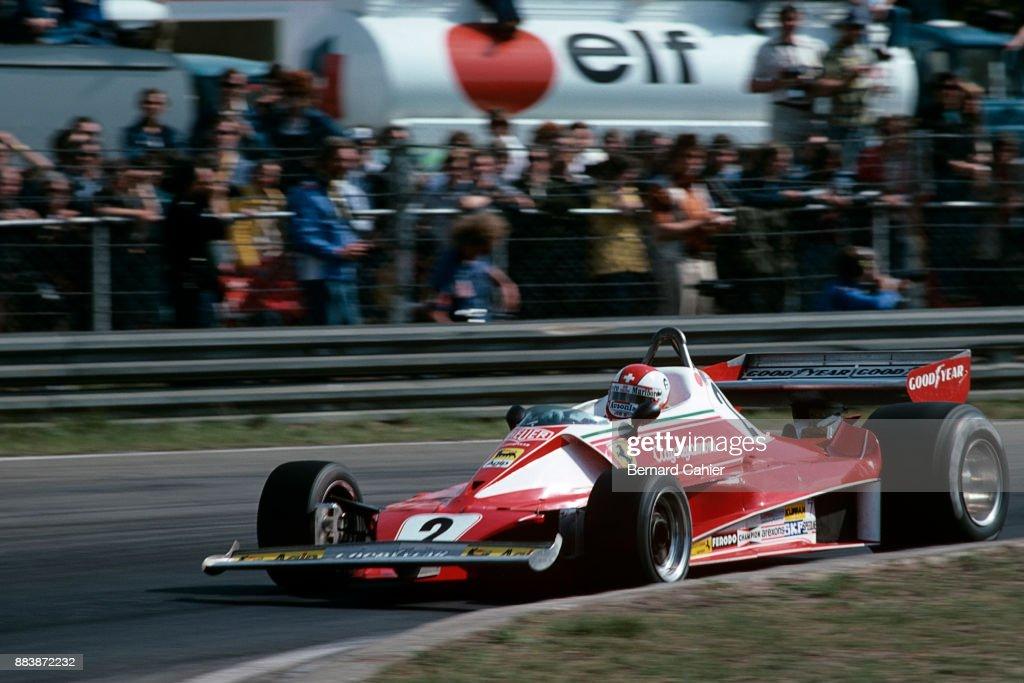 Clay Regazzoni, Grand Prix Of Belgium : News Photo