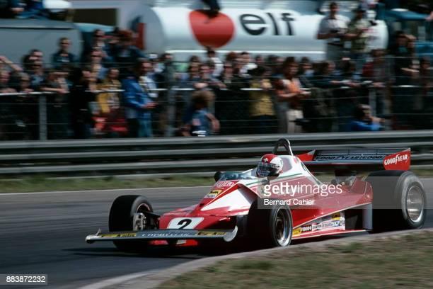 Clay Regazzoni Ferrari 312T Grand Prix of Belgium Circuit Zolder 16 May 1976