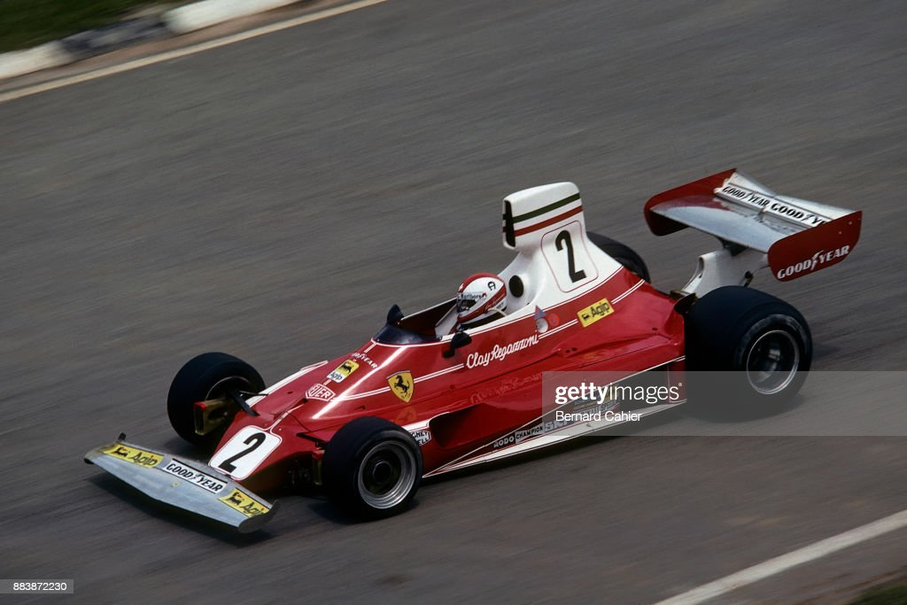 Clay Regazzoni, Grand Prix Of Brazil : News Photo
