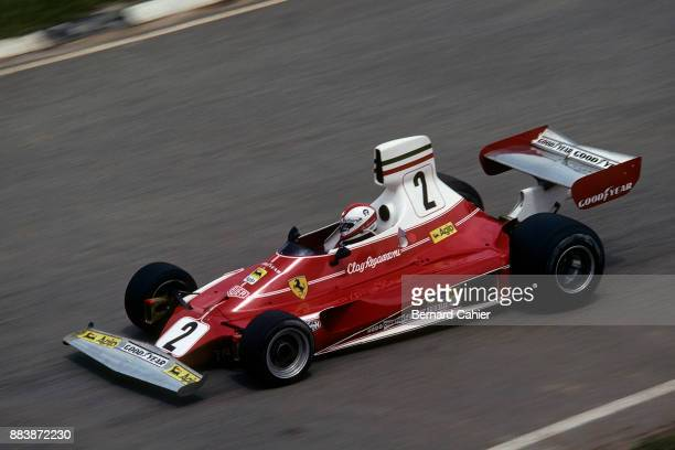 Clay Regazzoni Ferrari 312T Grand Prix of Brazil Interlagos 25 January 1976