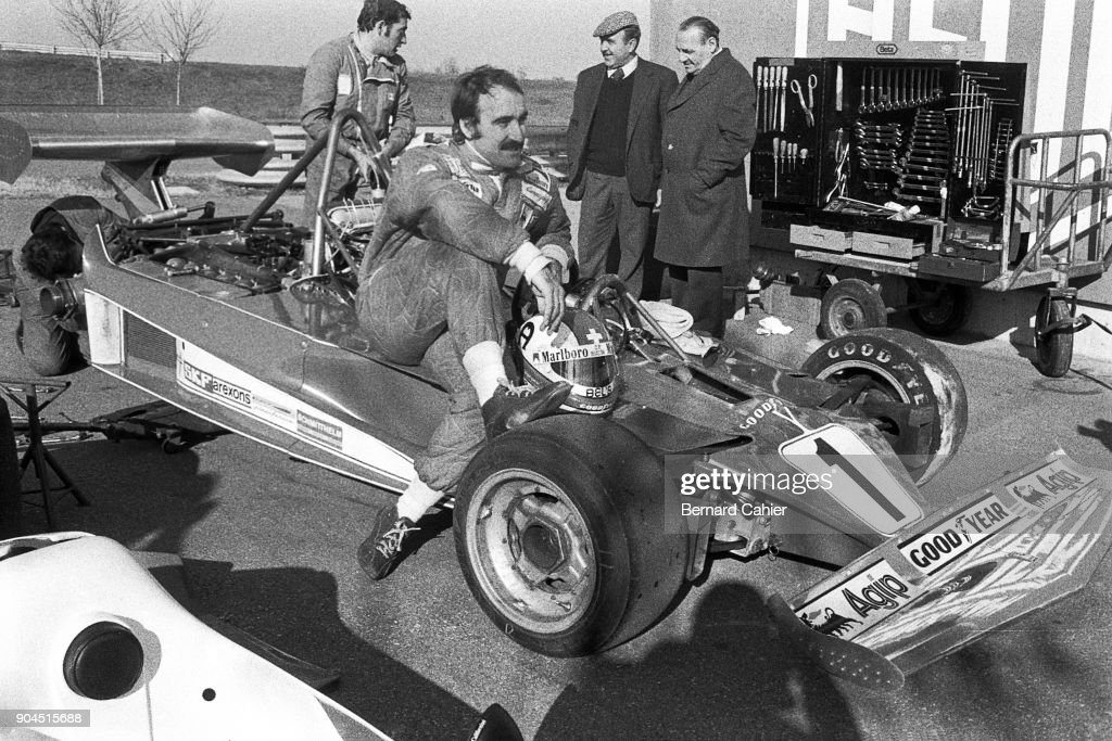 Clay Regazzoni, Grand Prix Of France : News Photo