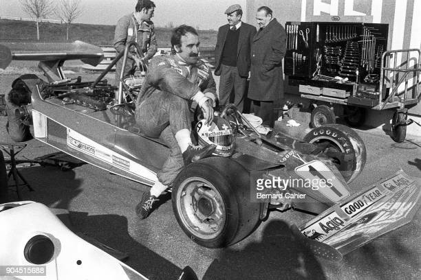 Clay Regazzoni Ferrari 312T Grand Prix of France Fiorano Circuit Maranello 15 February 1976