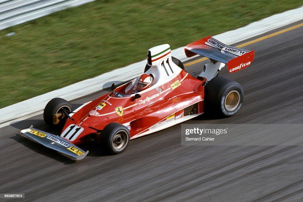 Clay Regazzoni, Grand Prix Of Italy : News Photo