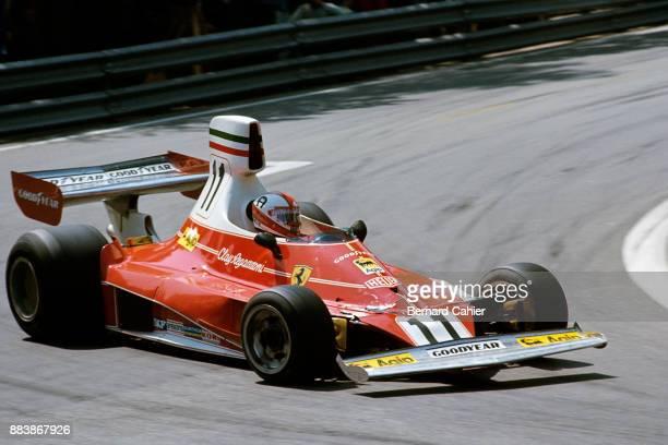 Clay Regazzoni Ferrari 312T Grand Prix of Spain Montjuic circuit Barcelona 27 April 1975