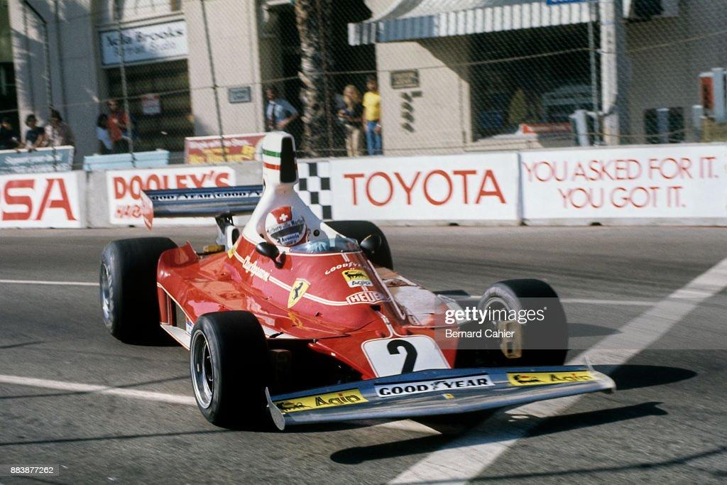 Clay Regazzoni, Grand Prix Of The United States West : News Photo