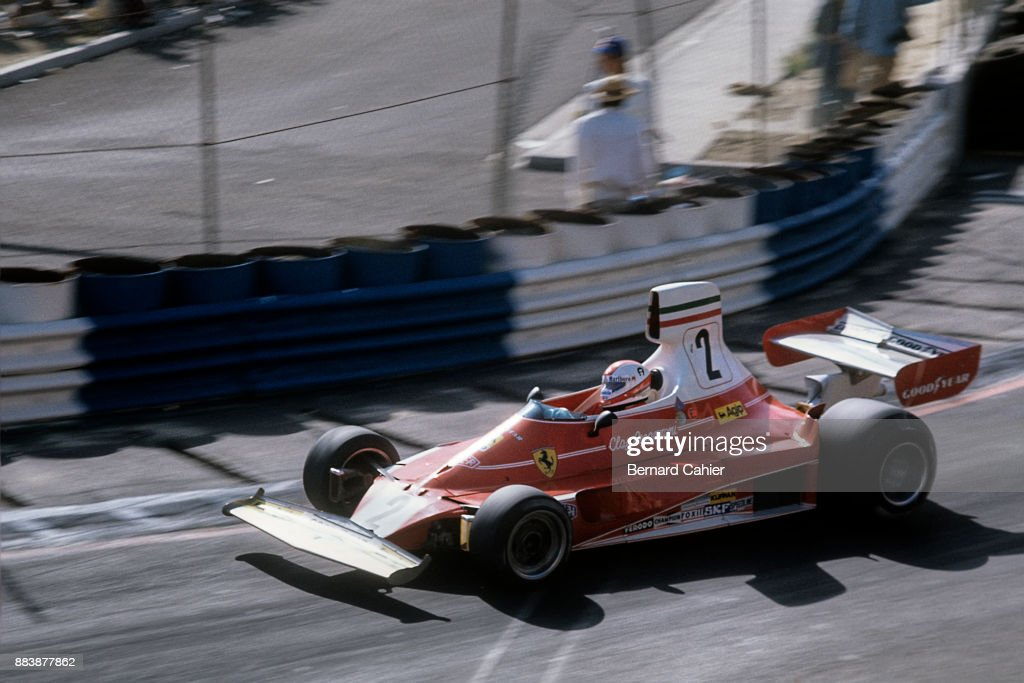 Clay Regazzoni, Grand Prix Of The United States West : News Photo