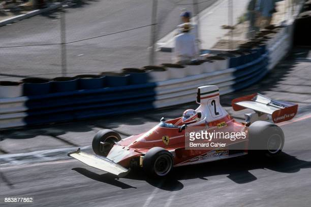 Clay Regazzoni Ferrari 312T Grand Prix of the United States West Long Beach 28 March 1976 Clay Regazzoni on the way to victory in the 1976 Long Beach...