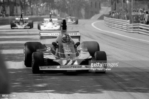 Clay Regazzoni Ferrari 312T2 Grand Prix of Spain Montjuic circuit Barcelona 27 April 1975