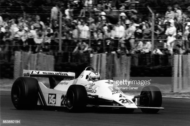 Clay Regazzoni, Williams-Ford FW07, Grand Prix of Great Britain, Silverstone Circuit, 14 July 1979. Clay Regazzoni scored the first ever Formula One...