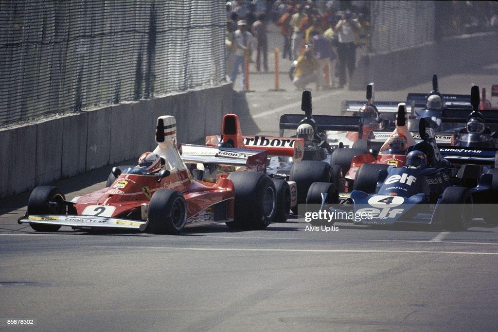 Clay Regazzoni... : News Photo