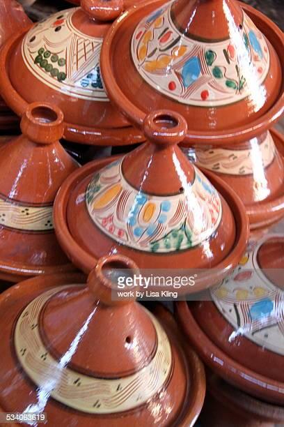 Clay Tagines, Marrakech Souk