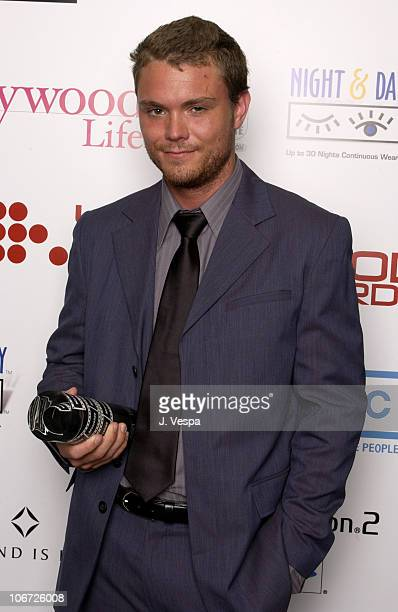Clayne Crawford during AMC Movieline's Hollywood Life Magazine's Young Hollywood Awards Portrait Gallery at El Rey Theatre in Los Angeles California...