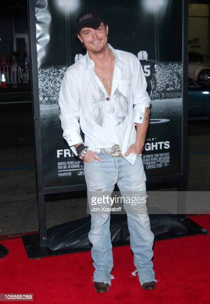 Clayne Crawford during Friday Night Lights World Premiere at Grauman's Chinese Theatre in Hollywood California United States