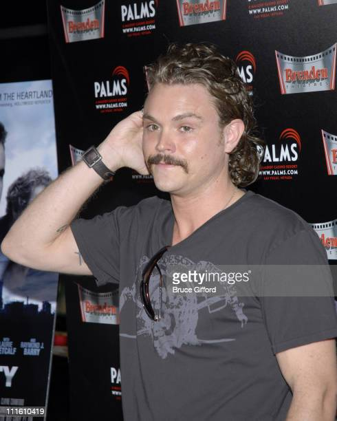 Clayne Crawford during Steel City Las Vegas Premiere Arrivals at Brenden Theatres in Las Vegas Nevada United States