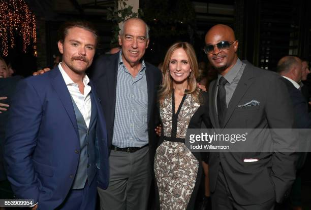 Clayne Crawford Fox Television Group Chairman and CEO Gary Newman Fox Television Group Chairman and CEO Dana Walden and Damon Wayans attend the FOX...