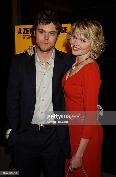 Clayne Crawford Sunny Mabrey during The New Guy Premiere at Mann Chinese 6 Theatre in Hollywood California United States