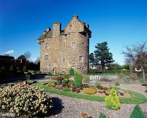 Claypotts Castle, Dundee, Tayside, Scotland
