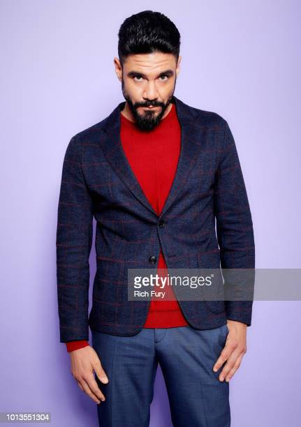 Clayton Cardenas of FX's 'Mayans MC' poses for a portrait during the 2018 Summer Television Critics Association Press Tour at The Beverly Hilton...
