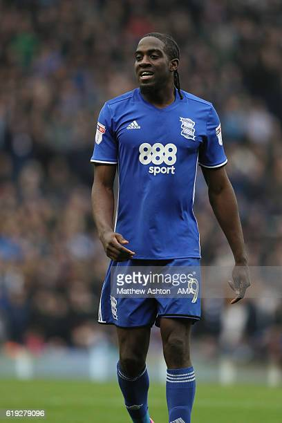 Clayton Donaldson of Birmingham City during the Sky Bet Championship match between Birmingham City and Aston Villa at St Andrews on October 30 2016...